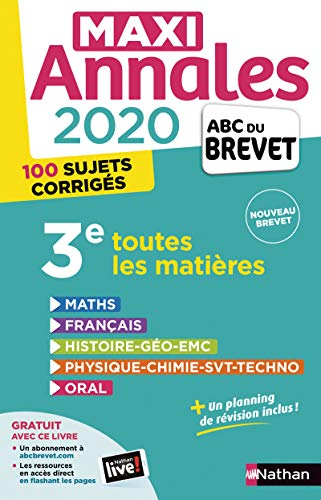 Maxi-Annales ABC du Brevet 2020