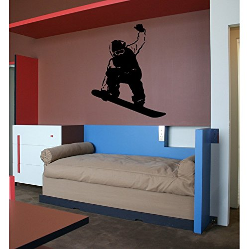 TATOUTEX Sticker Snowboard Free Style - Rosa, 100 cm x 130 cm
