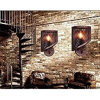 HWDJ001 Lámpara de Pared para Uso doméstico lámpara de Pared Retra del café del Restaurante del