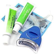 VANKER Blanqueador de dientes sanos oral cuidado de la herramienta de la luz blanca que blanquean el gel dental Tratamiento