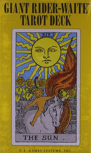 Giant Rider-Waite Tarot Deck: Complete 78-Card Deck par Professor Arthur Edward Waite