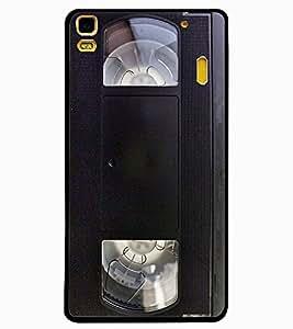 ColourCraft Retro Video Cassette Design Back Case Cover for LENOVO K3 NOTE
