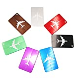 RXBC2011 Travel Holiday Luggage Baggage Tags ID Address Labels Suitcase 7 Color