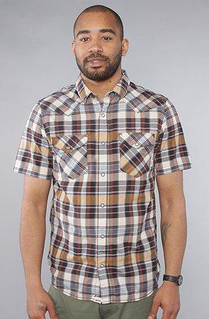 Vans Earle - Camicia da uomo a maniche corte