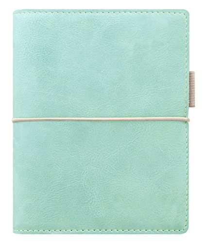 Filofax - Organiser tascabile Domino, morbido, Blu-verde