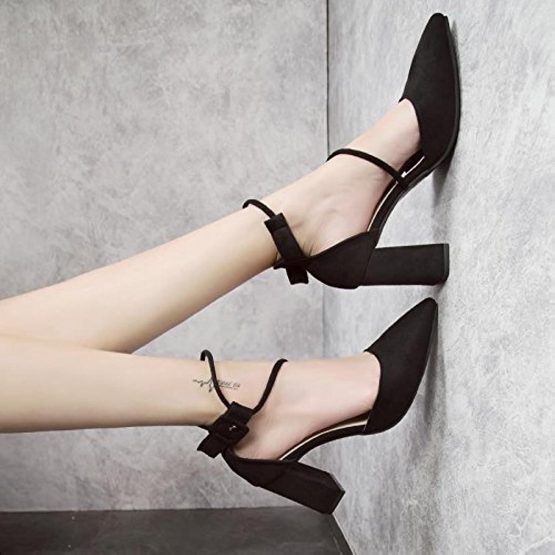 83a8e9909ae GAOLIM The High-Heel High-Heel High-Heel Shoes Girl Tip Single Shoes ...