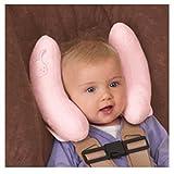 Kinder Baby Auto Platz Nackenstütze Halswirbel Reise Schützen Kissen Nackenkissen Kopfkissen für Kinderautositze Kinderwagen (Rosa)
