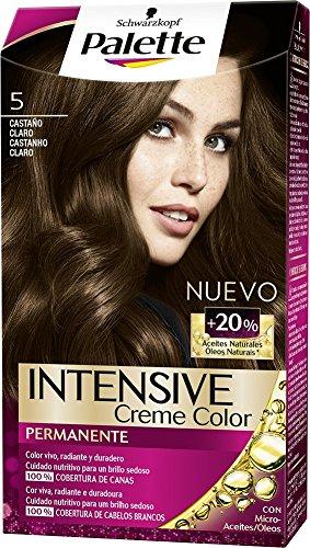 78dc604a51 Schwarzkopf Palette Intense Coloración Permanente Tono 5 Castaño Claro - 1  ud de 115 ml