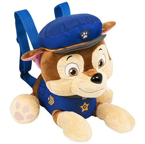 Paw Patrol SAMBRO pwp-8258-1 Chase Charakter Plüsch Rucksack