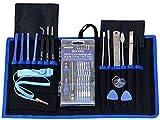 SYCEES 74 En 1 Juegos de herramientas manuales profesionales para reparar Iphone,Ipad, Apple Mac,Movíl tablet, Samsung, Smartphone, cámara/ cámara deportiva, etc