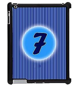 Printvisa 2D Printed Numerology Designer back case cover for Apple ipad 2 - D4224