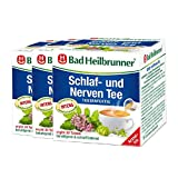 Bad Heilbrunner® Schlaf- und Nerven Tee - Tassenfertig - 3er Pack