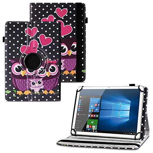 UC-Express NAUCI Xiaomi Mi Pad 4/3 / 2 Robuste Universal Tablet Schutzhülle Hochwertiges Kunstleder Hülle Tasche Standfunktion 360° Drehbar, Farben:Motiv 3