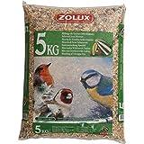 ZOLUX Granos para las aves de jardín Kg. 5 alimento para las aves
