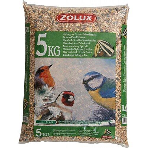 ZOLUX Körner Für Vögel Garten Kg. 5 Nahrung Für Vögel (Haustiere Nahrung)