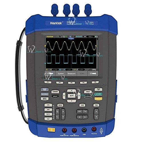 Handheld Oszilloskop Multimeter 6in12CH 150MHz 1GSa/s Recorder DMM Spektrumanalysator Frequenzzähler arbiträre Wellenformen Generator Handheld-multimeter