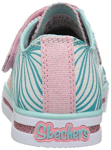 Skechers Sparkle Glitz-Shiny Spirit, Sneakers Basses Fille Blanc (Wmnt)