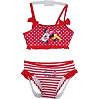 Disney Minnie Mouse Girls Bikini Red - Size 3/4/5/6/7/8 years