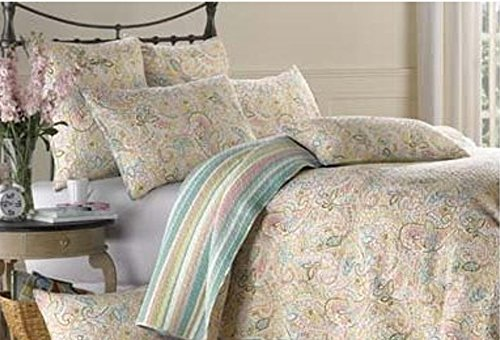 Virah Bella Martina Printed Quilt Set - Full/Queen Size 799928153485