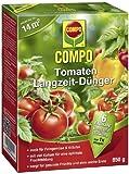 COMPO Tomaten Langzeit-Dünger, hochwertiger Spezial-Langzeitdünger, für alle Arten von Tomaten und anderes Frucht und Knollen bildendes Freungemüse, sowie Kräuter, 850 g