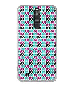 PrintVisa Designer Back Case Cover for LG K10 :: LG K10 Dual SIM :: LG K10 K420N K430DS K430DSF K430DSY (Big ears Vegitarian animal)