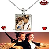 TITANIC 3D GLASS DOME IMPORTED PENDANT - THE MOST LOVABLE, CHERISHED & A LIFE TIME VALENTINE GIFT TO ❤SOMEONE SPECIAL❤ EXCLUSIVELY ONLY FOR PROFOUND & PASSIONATE LOVE. LADY HAWK DESIGNER SERIES 2018 - [ALSO BROWSE TO CHECK FOR LATEST