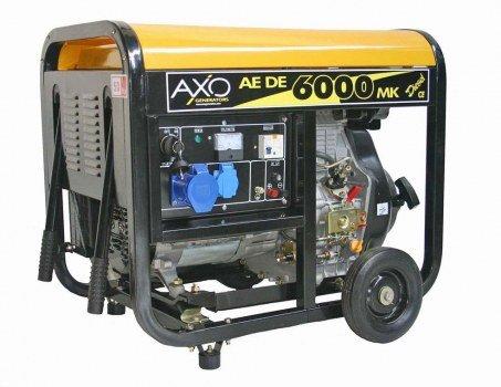 Generatore axo aede 6000mk semisilenziato - diesel- monofase