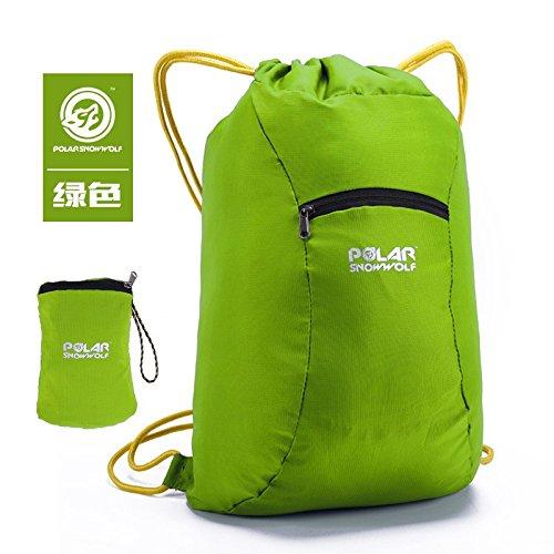 Hongrun Der Rucksack outdoor beach Paket Freizeit Sport Gesundheit Paket für Männer und Frauen Gurt Kabelbaum ist wasserdicht fold Double Shoulder Bag zugeben