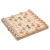 Traditional Wooden Xiang Qi Chinese Chess Checker Game W2015