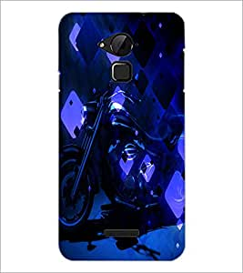 PrintDhaba Bike D-4867 Back Case Cover for COOLPAD NOTE 3 LITE (Multi-Coloured)