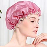 This is a reusable shower-cap made from good quality material. It is suitable for use at home, salons, spas, beauty parlors and many more places like these. This shower cap is free size and can be used by both adults as well as children. It helps kee...