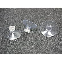 10 GGM Saugnäpfe (40mm) mit Rändelmutter - stark haftend