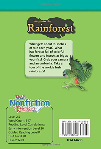 Step Into the Rainforest (Early Fluent Plus) (Time for Kids Nonfiction Readers)