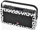 View Quest VQ-HEPMKII-LGBL Hepburn Mk II DAB+ Digital und FM Radio mit Bluetooth, Lulu Guinness schwarze lippen (Zertifiziert und Generalüberholt)