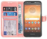 Gadget Giant Case for Motorola Moto E5 Play, Premium PU