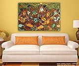 JunkYard Canvas Painting - Kerala Mural ...