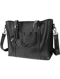 Vovoye Faux Leather Large Size Women s Adjustable Designer Shoulder Handbags 022a1ab5e75