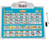 Sanyal 2 in1 Playmate Kids Educational Learning Tablet and White Board