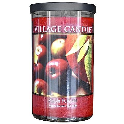 Village Candle Bougie décorative 889 g bocal Citrouille/pomme