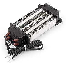 sourcingmap® 12V 200W Eléctrico Cerámico Termostático PTC Calefacción Elemento Calentador