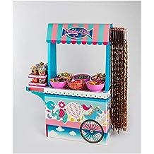 Caramelos La Asturiana Candybar Original y Vistoso Carrito para chuches, 1,22 cm (