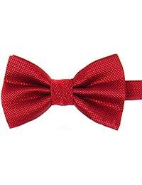 Damen Herren Teens Fliege Schleife verstellbar Krawatte Bow Tie für Business Hemd