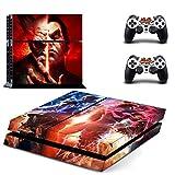 Tekken 7 PS4 Skin Sticker Pegatinas de la piel para la consola y 2x el mando