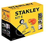Stanley Tools for Air Compressor, Air Tool Kit (Pack of 6) 9045717STN