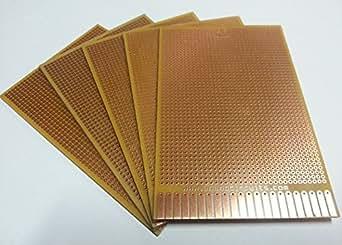 AnandCircuits PCB (Set of 10) General Purpose Printed Circuit Board-Strip-board, Breadboard DIY
