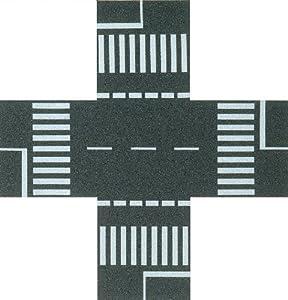 Busch - Carretera para modelismo ferroviario H0 Escala 1:148 (BUE7074)