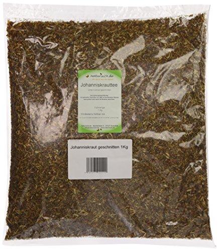 Naturix24 Johanniskraut geschnitten, 2er Pack (2 x 1 kg)