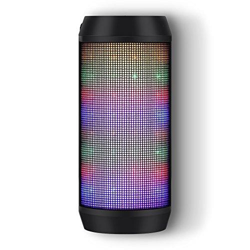 Altavoz Bluetooth Portatiles con Luz de...