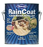 #9: WOLMANTM RainCoat® Clear Water Repellent for Exterior Wood & Wooden Decks