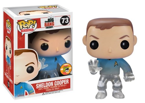 Figura Pop Big Bang Theory Sheldon Star Trek
